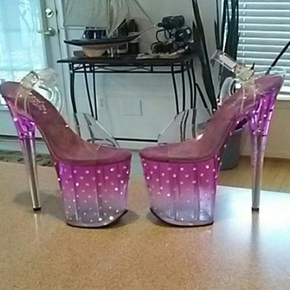 ed88cee261 Pleaser Shoes | Stardust Stripper Heels | Poshmark